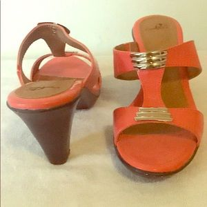 Open toe shoes from Sears